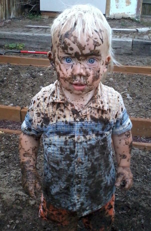 ben in mud